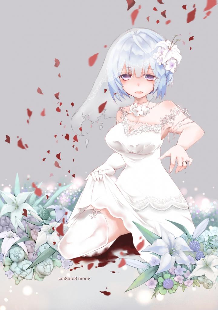 花嫁のイラスト