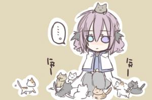 神化論after更新と、シノビ少女アゲハちゃんの漫画。